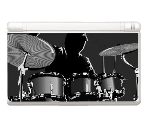 Music Drum Instrument Decorative Protector Skin Decal Sticker for Nintendo DS Lite