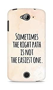 AMEZ the right path is not easy Back Cover For Acer Liquid Z530