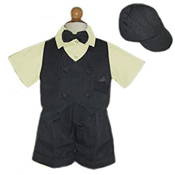 Amazon.com: 9M - Baby Boy Easter Suit Yellow 5 Pc (6M to