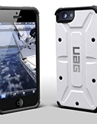 iPhone5専用 米国UAG社製耐衝撃ケース URBAN ARMOR GEAR APPLE iPhone5 COMPOSITE CASE WITH SCREEN PROTECTION White/Black アイフォン5 ケース ホワイト/ブラック