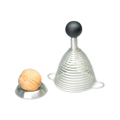 Take2 20121 Naomi Casse-noix en acier inoxydable et silicone