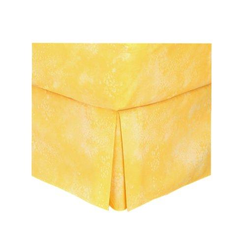 Banana Yellow - Bedskirt - Twin front-1066416