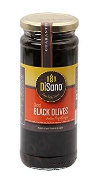Disano Olives Sliced Black, 230g