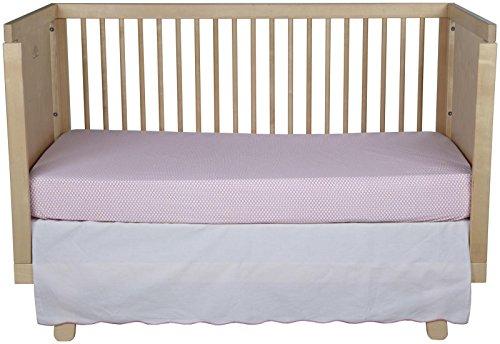 Oliver B 2-Piece Crib Bedding Set- Perfectly Pink - 1