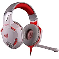 Megedream Update Version USB 3.5mm Gaming Headset KOTION EACH G2000 LED Light Game Mic Stereo Bass Headphone Earphone... - B01H1FNAF8