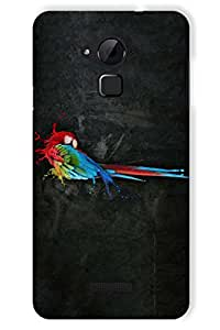 IndiaRangDe Case For Coolpad Note 3 Printed Back Cover