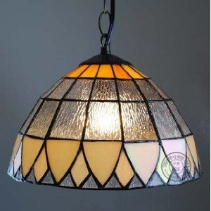 Tiffany style natural shell material pendant light aisle for Shell ceiling light fixtures