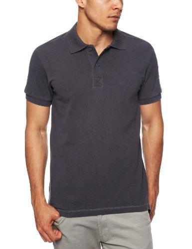 Bench Faizal Polo Shirt Mens T-Shirt Navy Blue Small
