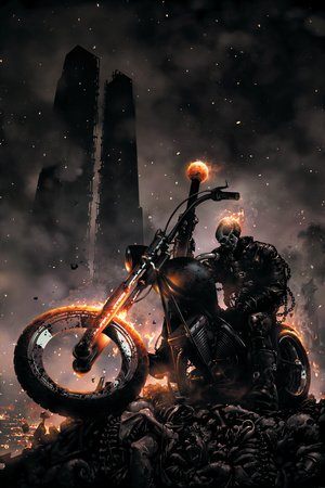 Ghost Rider No.6 Cover