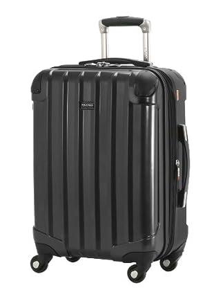 Ricardo Beverly Hills Luggage Pasadena 2.0 20-Inch Expandable Spinner Carry-On, Black, Medium