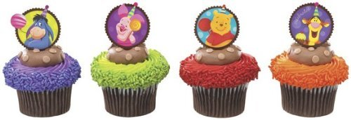 Winnie the Pooh Cupcake Topper Picks - Set of 12 - 1