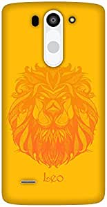 The Racoon Grip Leo hard plastic printed back case / cover for LG G3 Beat