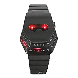 Samgo Creative Smugglers Led Binary Watch Watch Men Strip from samgo