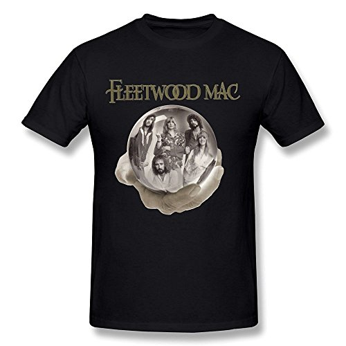 PAYYAND Men's The Very Best Of Fleetwood Mac T-shirt Black XXL (Fleetwood Mac Shirt Xxl compare prices)