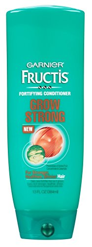 Garnier Fructis Haircare - Grow Strong - Fortifying Shampoo & Conditioner Set - Net Wt. 13 FL OZ (384 mL) Each - One Set