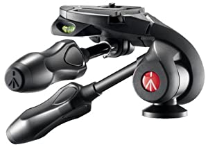 Manfrotto MH293D3-Q2 290 Series 3-Way Photo Head with Compact Foldable Handles (Black); manu. price = $69.88