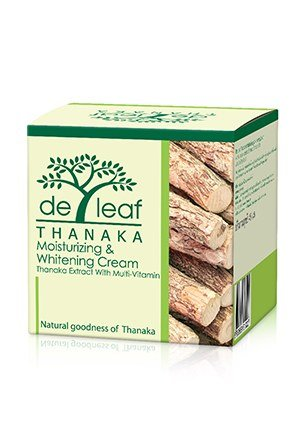De Leaf: Thanaka Moisturizing & Whitening Cream (45Ml)