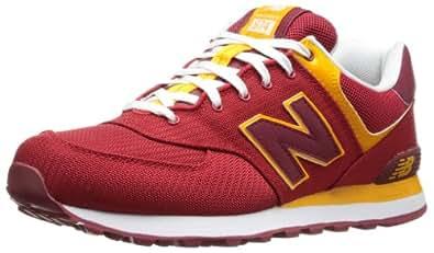 New Balance Men's ML574 Passport Running Shoe,Red,17 2E US