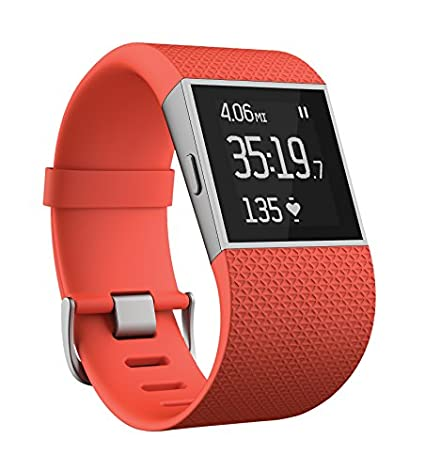 Fitbit Surge (FB501BKL) Ultimate Fitness Smart Watch