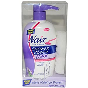 Nair Shower Power Max Women Hair Remover, 13 Ounce