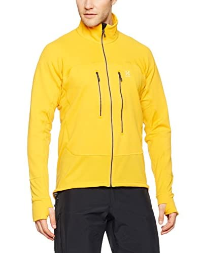 Haglöfs Jacke Rando Stretch Mid Layer Fleece gelb