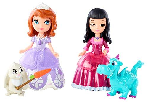 MATTEL 美泰 Disney Sofia The First 系列 Sofia Vivian and Animal Friends 玩具套装 $5.49+$3.38直邮中国(约¥60)