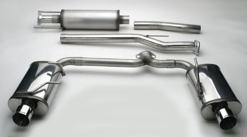 Stillen 508295 Stainless Steel Cat-Back Exhaust System - 08-13 Altima Coupe 3.5L front-1057344