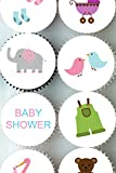 EDIBLE RICE PAPER CAKE TOPPER CUPCAKE TOPPERS BABY SHOWER DECORATION GAME CT113