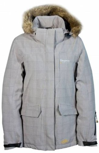 Deproc Cranbrook Skijacke/ Winterjacke/Parka für Damen, grau, 46