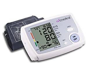 TALKING BLOOD PRESSURE MONITOR DIGITAL AUTOMATIC UPPER ARM USE + FREE CASE!