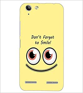 PrintDhaba Quote D-1974 Back Case Cover for LENOVO A6020a46 (Multi-Coloured)