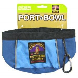 Kyjen Outward Hound 48-Ounce Port-A-Bowl