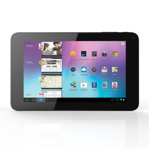 Coby 7-Inch Android 4.0 8 Gb Internet Tablet 16:9 Capacitive Multi-Touch Widescreen With Built-In Camera, Black Mid7065-8