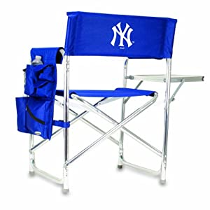 MLB New York Yankees Portable Folding Sports Chair by Picnic Time