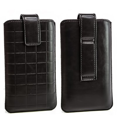 Gürtel Handy Tasche Schutz Hülle Sony Xperia J ST26i/ Schwarz Handy Etui Case Cover Hülle Mit Ziehband