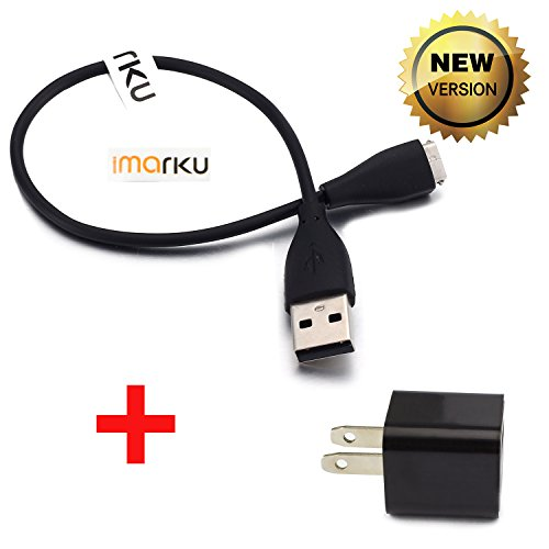 Fitbit Charge HR Charger,Imarku Fitness Trackers Replacement USB Charger Cable Black for Fitbit Charge HR Band Wireless, 1pcs