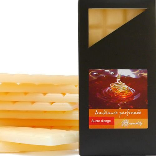 TABLETTE PARFUM FONDANT - SUCRE D'ANGE (miel chocolat)
