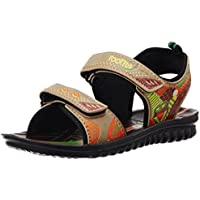 Foot Fun (from Liberty) Unisex Phntom-1 Beige Sandals and Floaters - 11 kids UK/29 EU