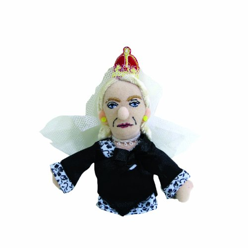 Queen Victoria Finger Puppet and Refrigerator Magnet - By The Unemployed Philosophers Guild