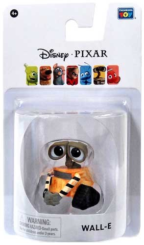 Disney / Pixar Wall-E 2 Inch Mini Figure Wall-E - 1