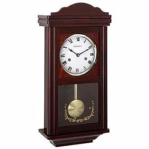 Buy Beautiful Kassel 15 Day Wood Wall Pendulum Clock with ...