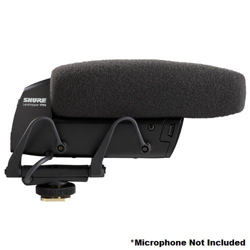 Shure A83W Replacement Foam Windscreen For Lenshopper Vp83 And Vp83F Microphones