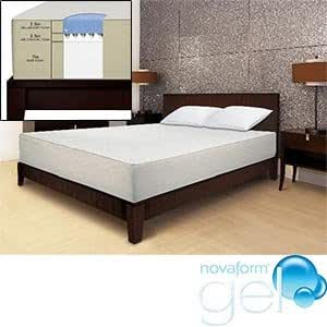 Novaform Gel Memory Foam King Mattress Serafina Memory Foam Mattress