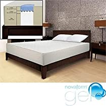Hot Sale Novaform Gel Memory Foam Queen Mattress
