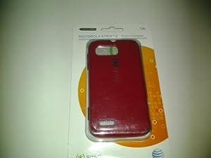 Speck CandyShell Case for Motorola Atrix 2 (Red/Black)