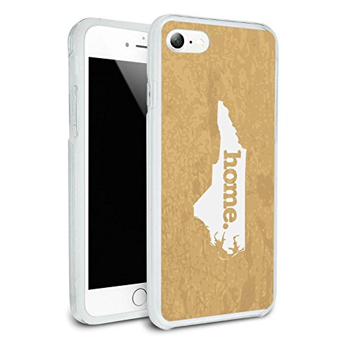 north-carolina-nc-home-state-textured-golden-yellow-protective-slim-hybrid-rubber-bumper-case-for-ap