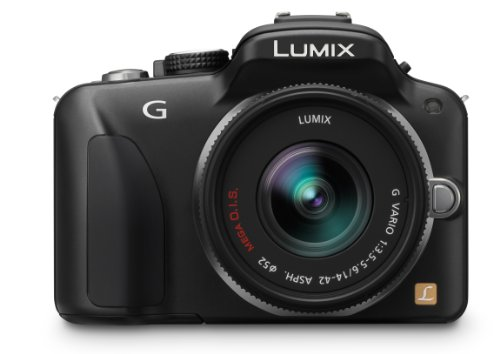 Panasonic LUMIX DMC-G3 16 MP Micro Four-Thirds Interchangeable Lens Camera with 3-Inch Free-Angle Touch-Screen LCD and 14-42mm Lumix G VARIO f/3.5-5.6 Lens