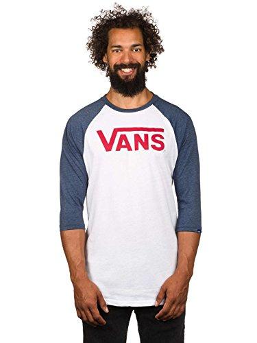Vans - Top - Uomo white/heather navy XXL
