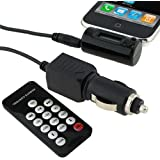 DIGIFLEX Transmitter to FM Radio & Car Charger for iPhone 3G 3Gs 4 iPod Touch 2nd/Second Gen/Generation