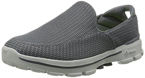 Skechers Men's Go Walk 3 Mesh Slip-on Shoe,Charcoal,10.5 M US